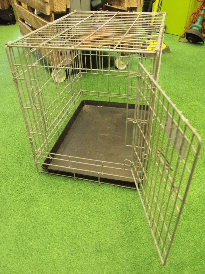 Dog Cage And Base