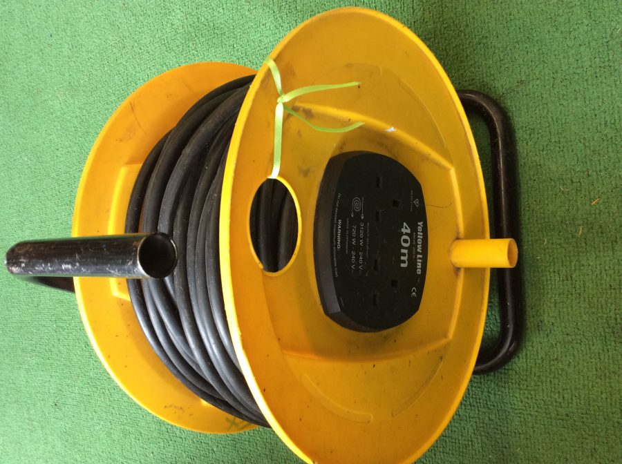 Yellow 40m Extension Lead
