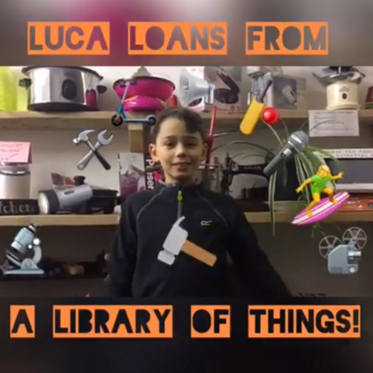 Luca Loans from a Library of Things