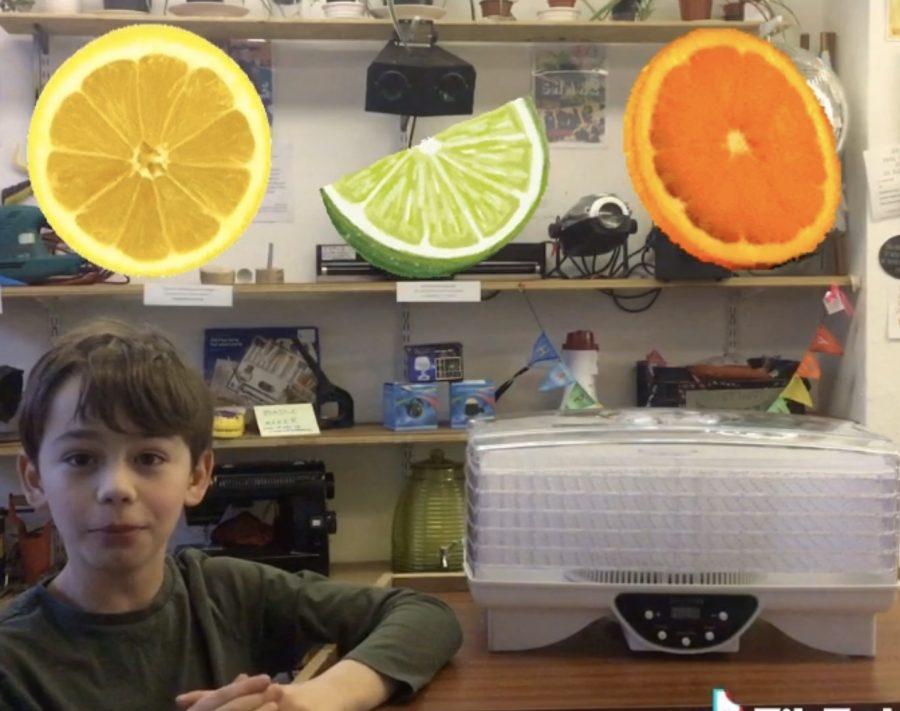 Luca Loans a Dehydrator